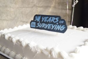 30 years of SDL Surveying - Celebration Cake